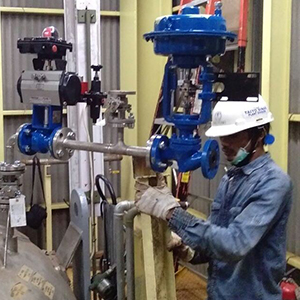Control Valve Calibration product from Inako Persada