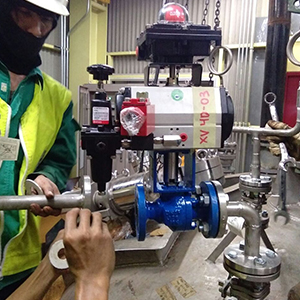 Valve Commissioning product from Inako Persada