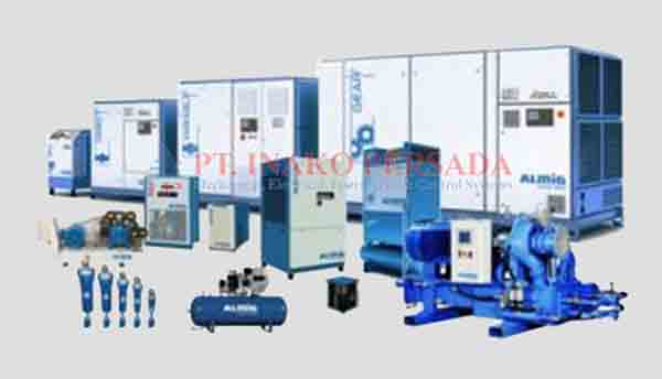 Air Compressor product category in the distribution of inako pratama