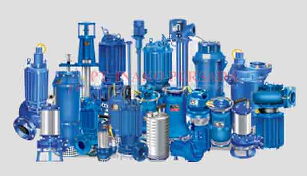 the pumps product category in the distribution of inako pratama