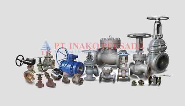 valve product category in the distribution of inako pratama