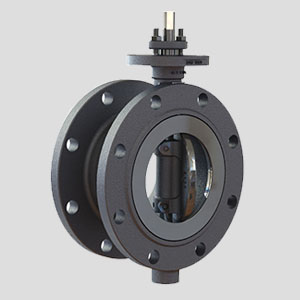 PT Inako Persada products Flange Butterfly Valve