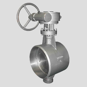 PT Inako Persada products Butt-Welding End Butterfly Valve