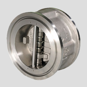 PT Inako Persada products Double Disc of Wafer Check Valve